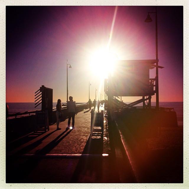 Venice Beach Pier, Los Angeles, USA