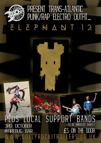 Elephant 12 Event poster