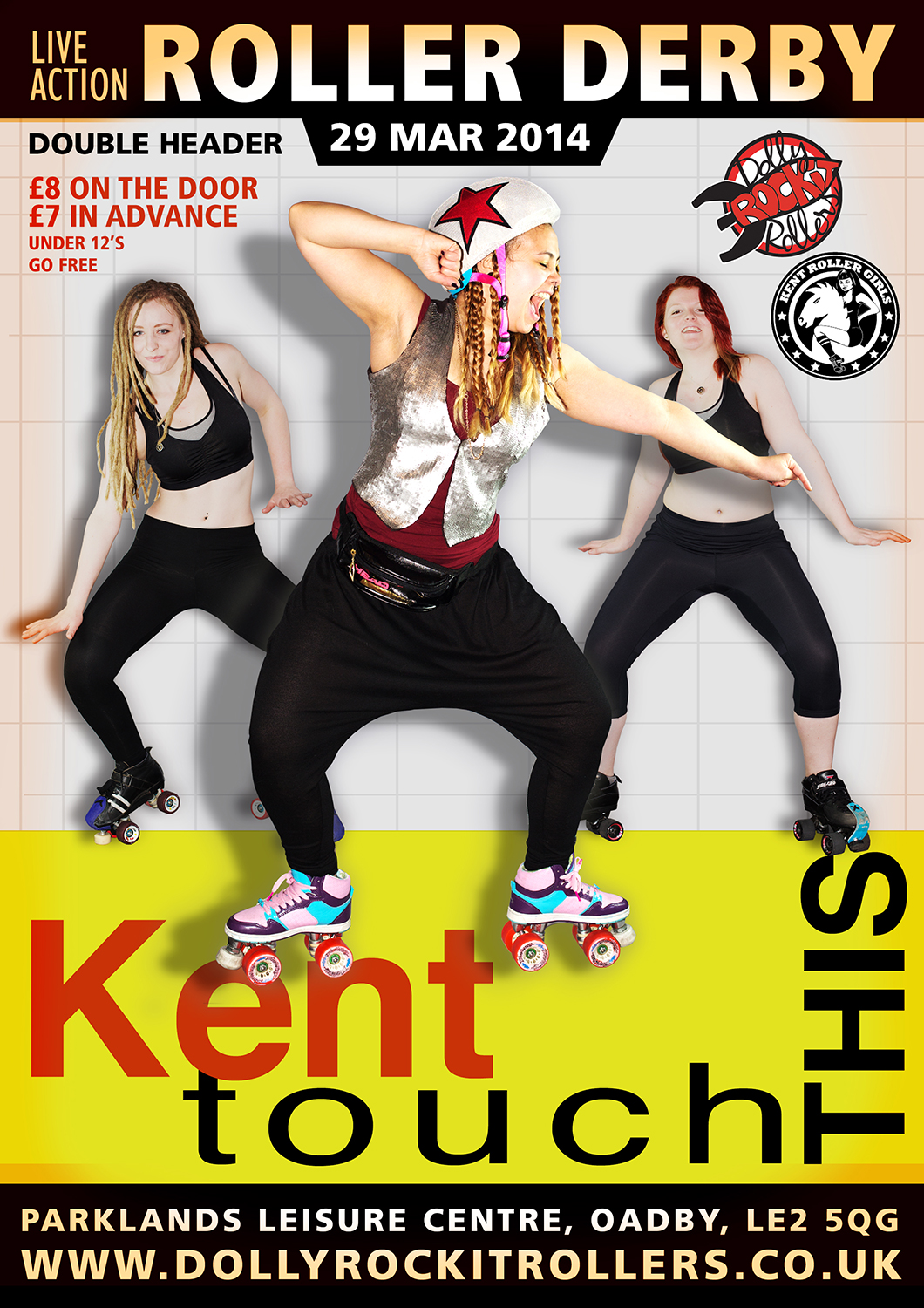 Poster for 'Kent Touch This'