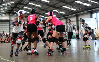 Team USA vs London Brawling - Roller Derby