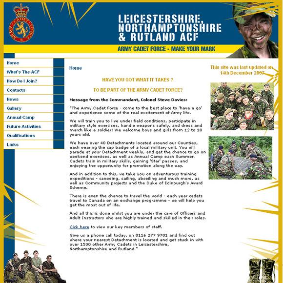 Cadets Website